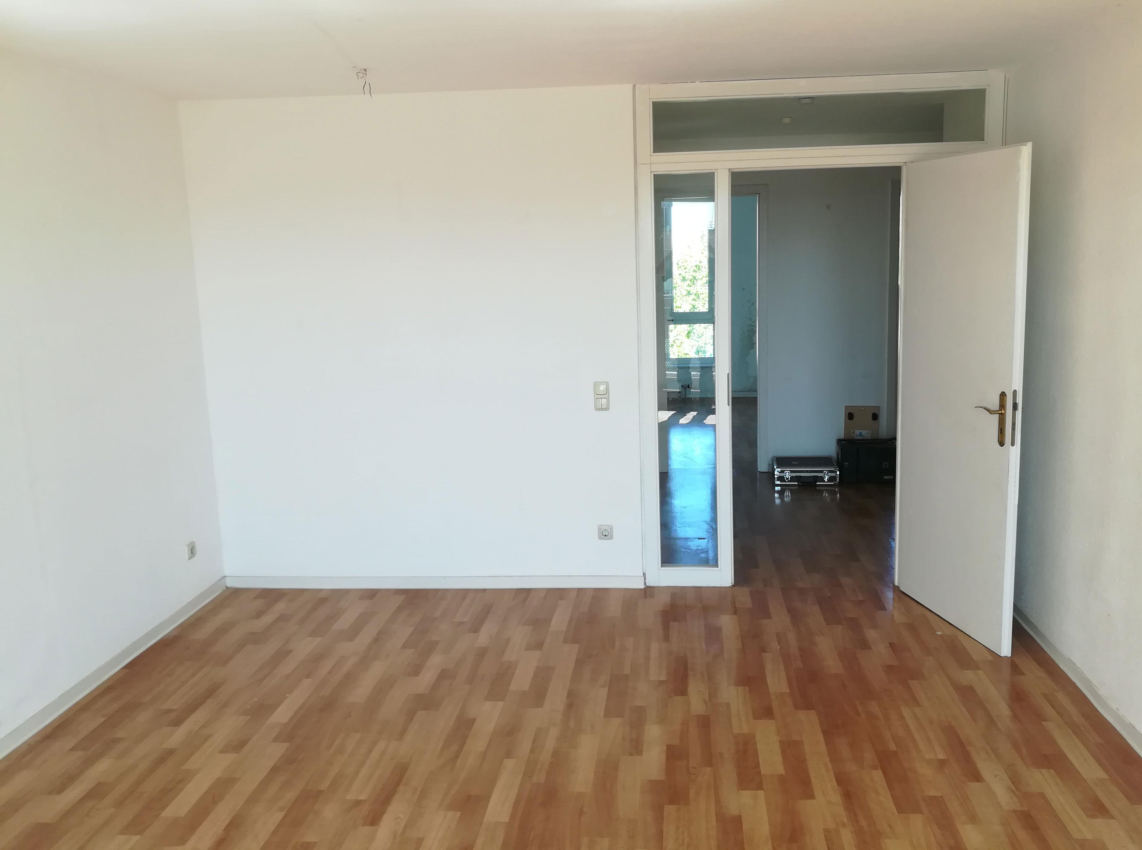 Wohnzimmer nachher Haushaltsauflösung Rostock