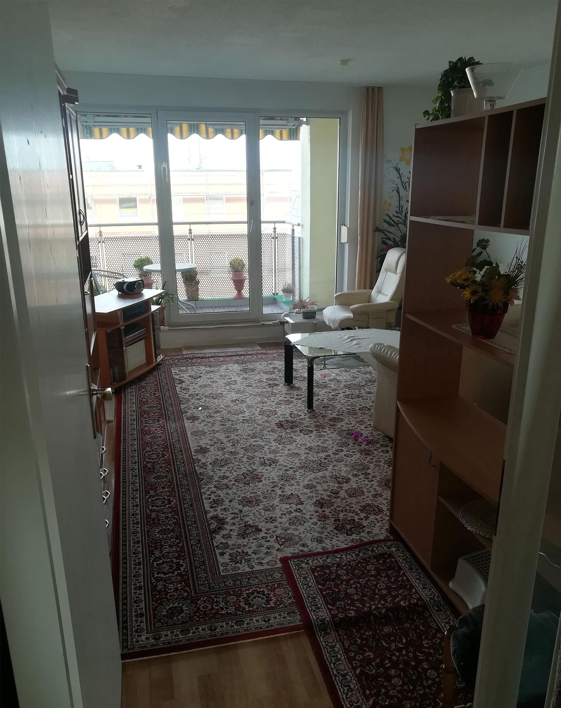 Wohnzimmer2 vorher Haushaltsauflösung Rostock