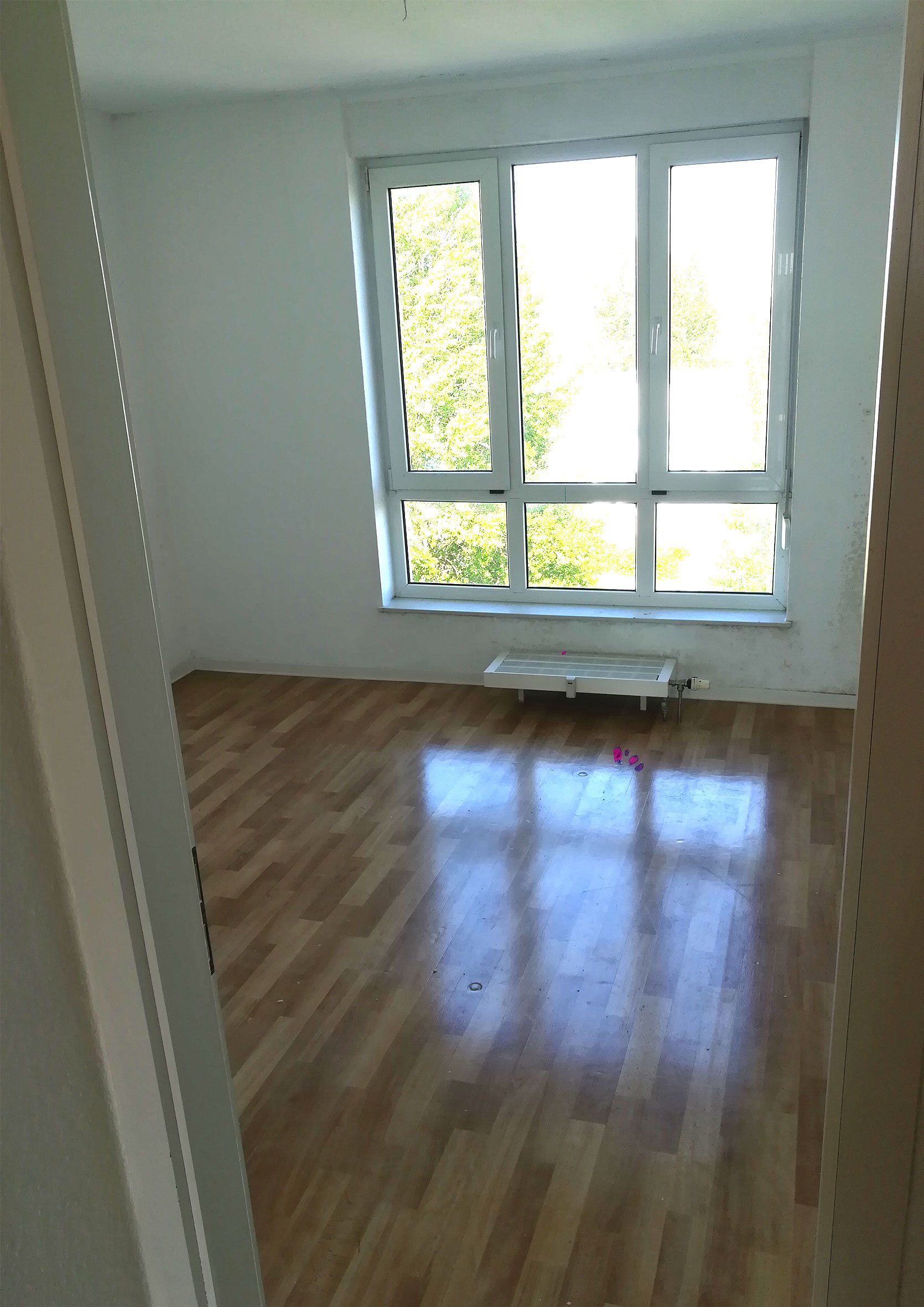 Schlafzimmer nachher Haushaltsauflösung Rostock